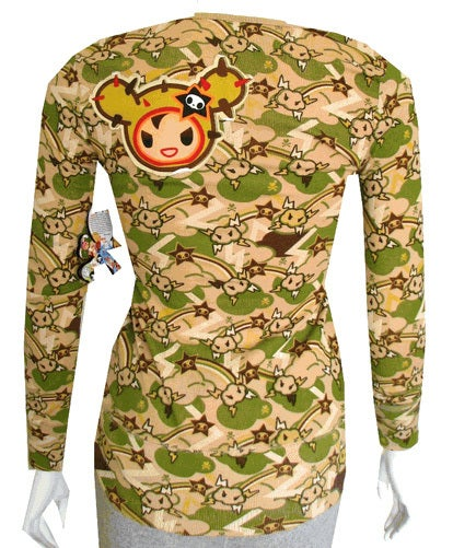Image of Tokidoki Angry Cloud Thunder Long Sleeve SHIRT
