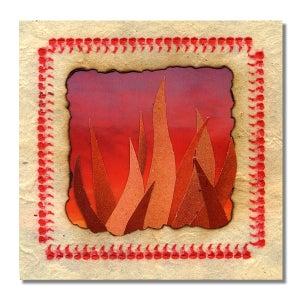"Image of SUNBURNED HAND OF THE MAN 'Hoof Trip / Plague Pipe' Brown Vinyl 7"""
