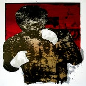 Image of Manny Pacquiao PACMAN poster print