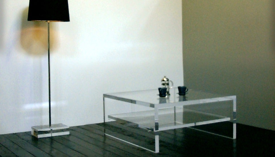 Ralph Marks Perspex Acrylic Furniture Uk Acrylic Coffee Table Uk With Shelf