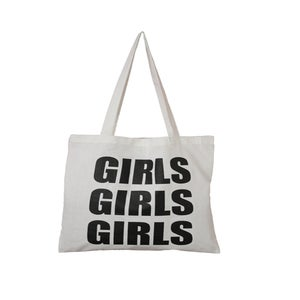Image of GIRLS GIRLS GIRLS<br>TOTE BAG