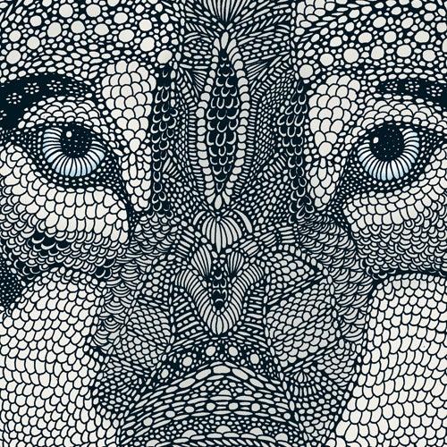 Image of Wolf 70x50cm