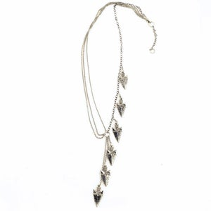Image of Asymmetrical Spearhead Necklace