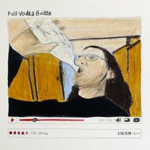 Image of YouTube drawings - Full Vodka Bottle
