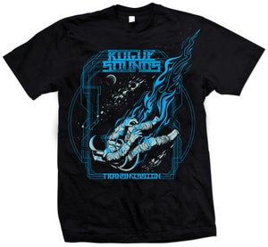 Image of Astronaut T-Shirt Blue