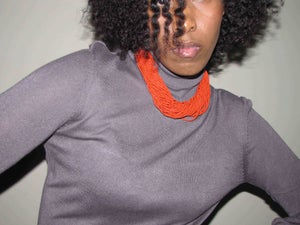 Image of Twisted Seed Necklace