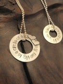 Image of My Family is a Circle of Love Necklace