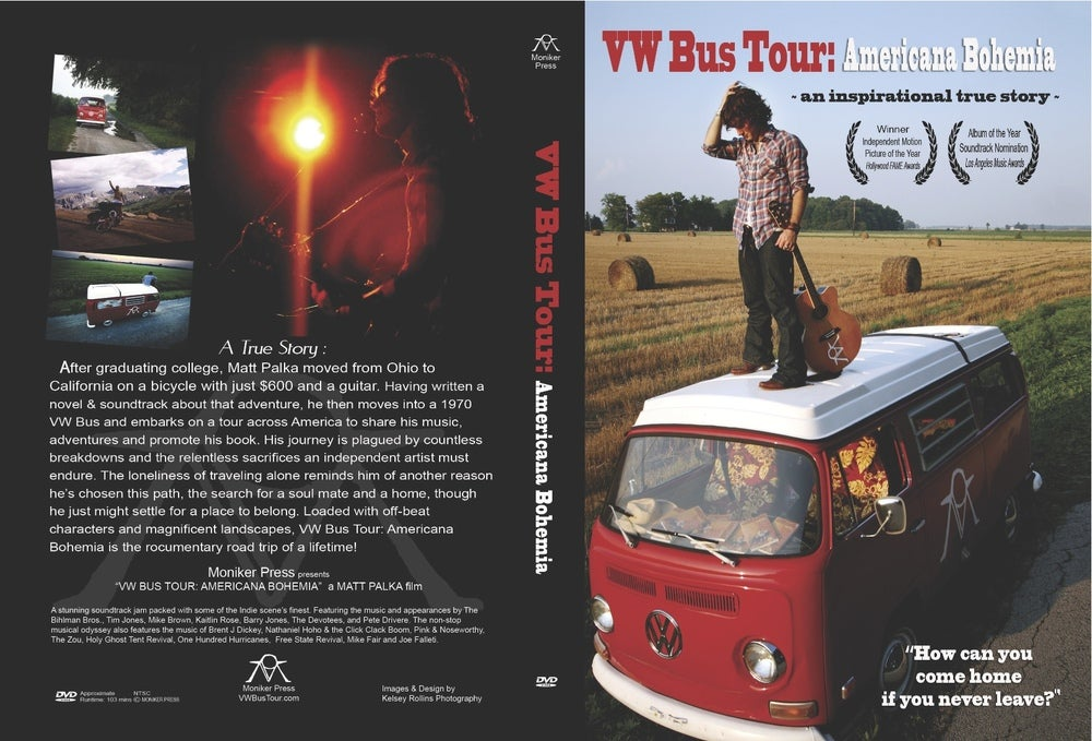 Image of VW Bus Tour: Americana Bohemia DVD