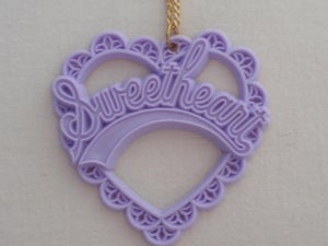 Image of sweetheart necklace