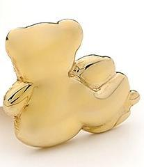 Image of Bears of Hope - Large Pendant in Solid 9ct Yellow Gold