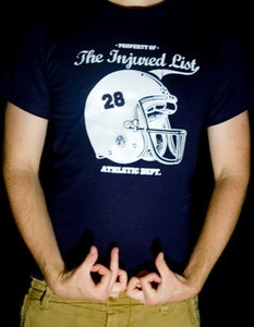 Image of Injured List Athletic Department T-Shirt