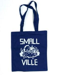 Image of Smallville Bag- Logo Print- Blue