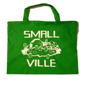 Image of Smallville Bag- Logo Print- Green