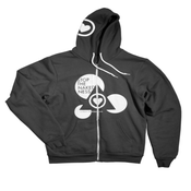 Image of Gray Zip Up Hoode