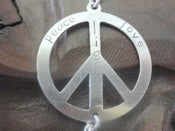 Image of Peace, Love and Light Bracelet