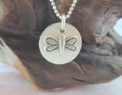 Image of Personalized Dragonfly Necklace