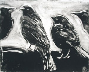 Image of Starlings of Fort Mason No. 5 (Four birds)