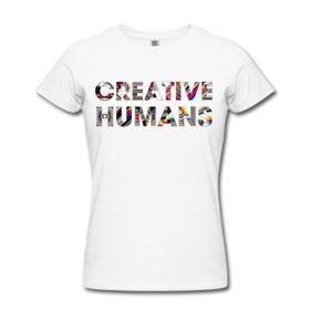 Image of CREATIVE HUMANS/Female AA Slim Fit Tee