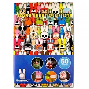Image of TOY2R Bunny Qee Fiesta Postcard Set – Book A & Book B