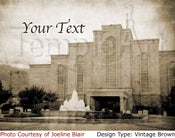 Image of Albuquerque New Mexico LDS Mormon Temple Art 001 - Personalized LDS Temple Art
