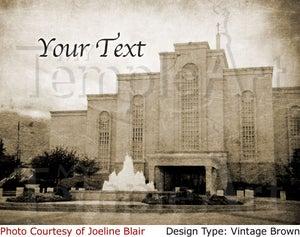 Image of Albuquerque New Mexico LDS Mormon Temple Art 001 - Personalized LDS Temple Art
