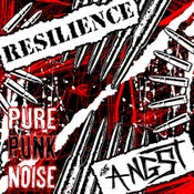 Image of Pure Punk Noise Split CD w/ RESILIENCE