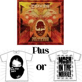 Image of CD + T-shirt Bundle