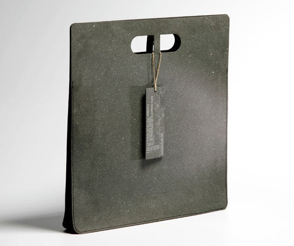 Image of ZENBAG, made of recycled leather.