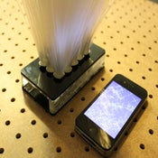Image of iPhone Fiber Optics Lamp