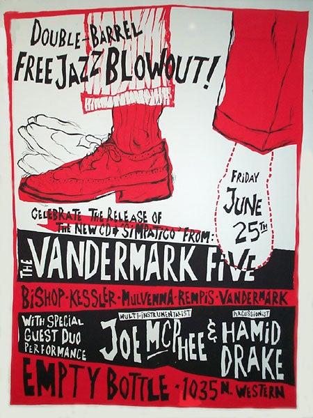 Image of Vandermark 5 poster