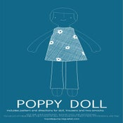 Image of PDF Sewing Pattern - Poppy Doll