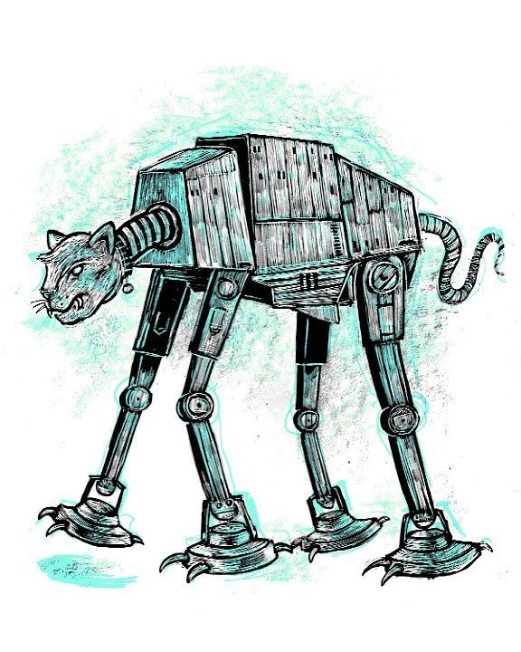 Image of Cat-at Imperial Walker