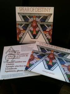 Image of NEW** SPEAR OF DESTINY STUDIO ALBUM 'Omega Point' VINYL LP VERSION