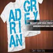 Image of Adrian Grey Front/Back Tee