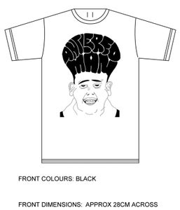 Image of Antlered Man 'Surrounded By White Men' Single T Shirt