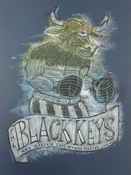 Image of The Black Keys New Years Eve Poster