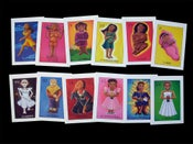 Image of Loteria de La Mujer Greeting Cards
