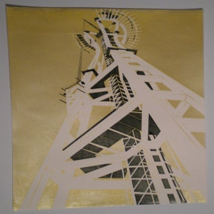 Image of Building an Icon Gold Print