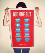 Image of Odd One Out – Tea Towel