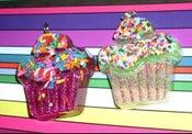 Image of Cupcake Handmade Necklace