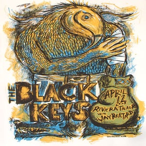 Image of The Black Keys Chicago 2008 Riviera Theater