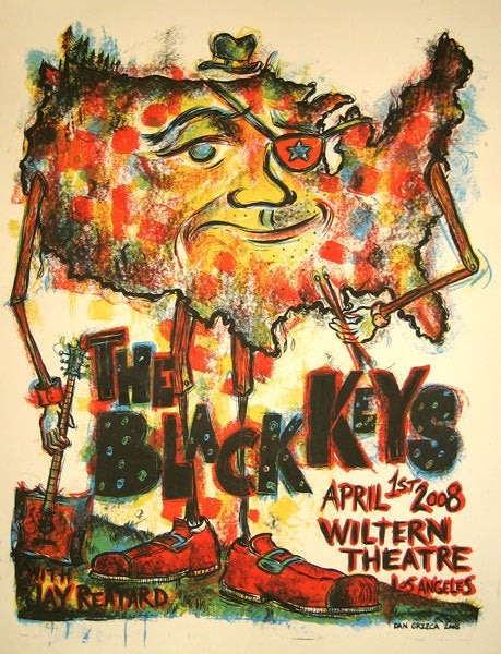 Image of The Black Keys Los Angeles Wiltern Theater 2008