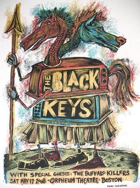 Image of The Black Keys Boston 2008