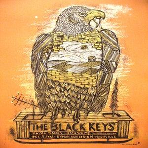 Image of The Black Keys Nashville Orange 2008