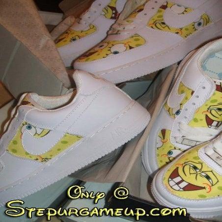 SpongeBob Nike Air Force Ones Exclusive To