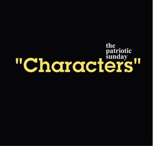 Image of 'Characters' LP by The Patriotic Sunday