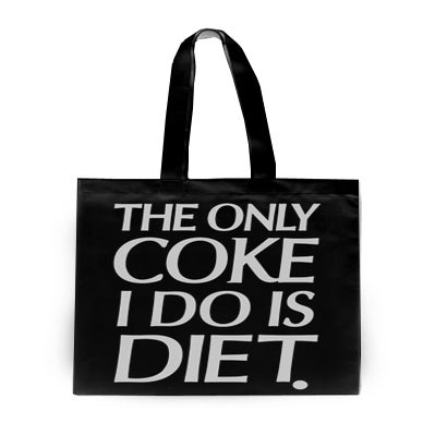Image of The Only Coke I Do Is Diet (Tote Bag)