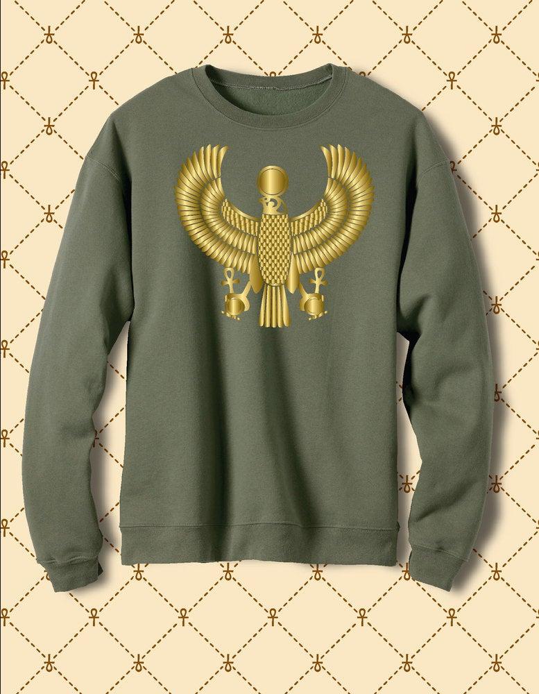 Image of Men's Custom Heru Gold Foil Fleece