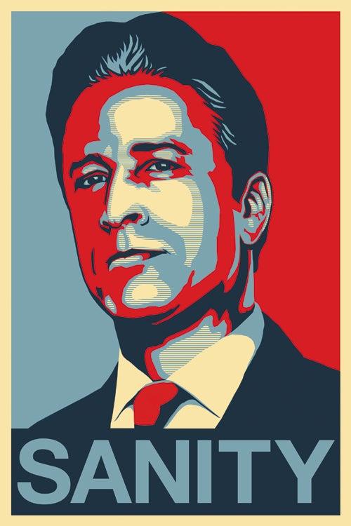 Image of Jon Stewart - SANITY Sticker