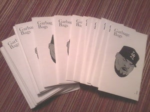 """Image of """"Garbage Bags""""  Zine Issue #1"""